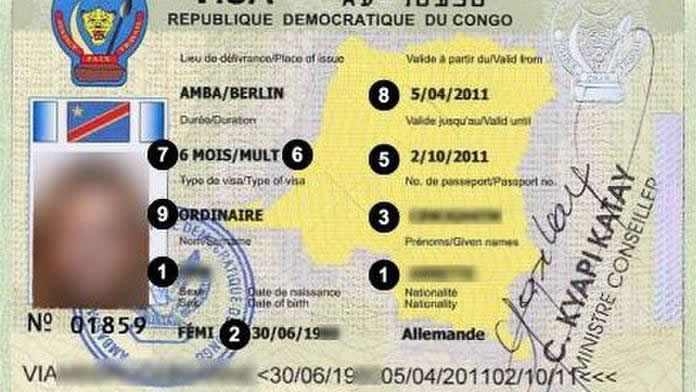 How to secure a Congo Tourist Visa