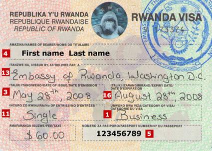 How to secure a Rwanda Visa